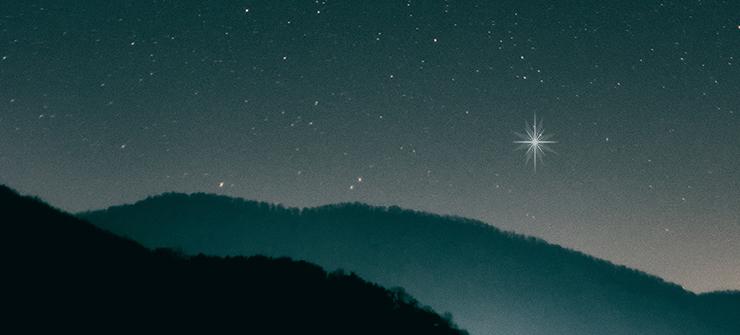 stars filling night sky