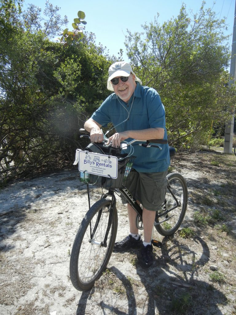 David was an avid cycler