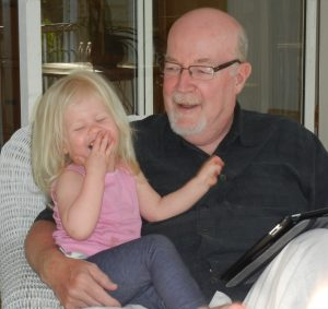David and his granddaughter