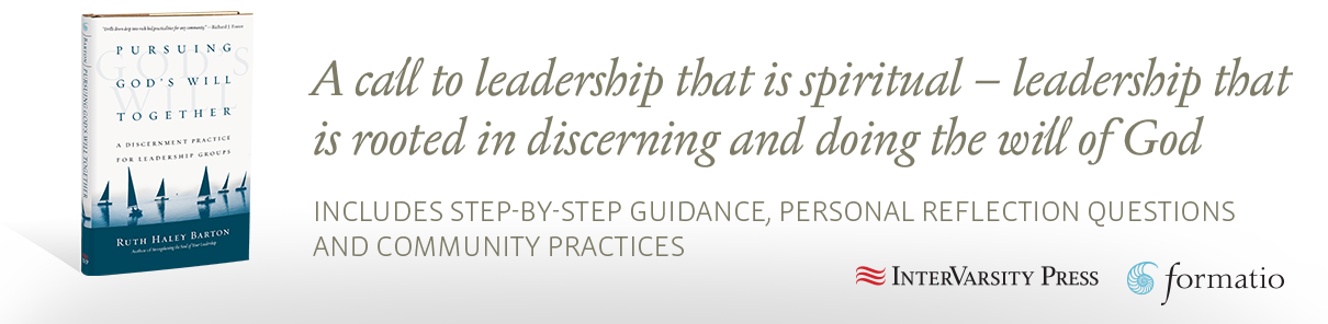 A call to leadership that is spiritual – leadership that is rooted in discerning and doing the will of God