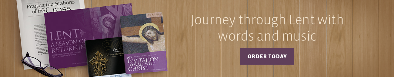 Journey through Lent with words and music